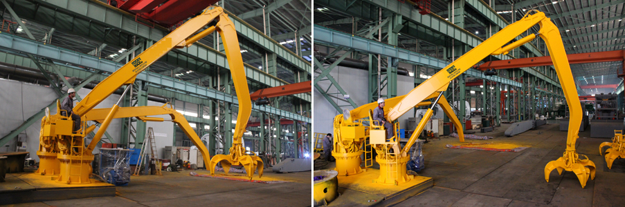 Platform / Feeding Crane - Industrial Supplies and Solutions Company(ISSC), Chennai.